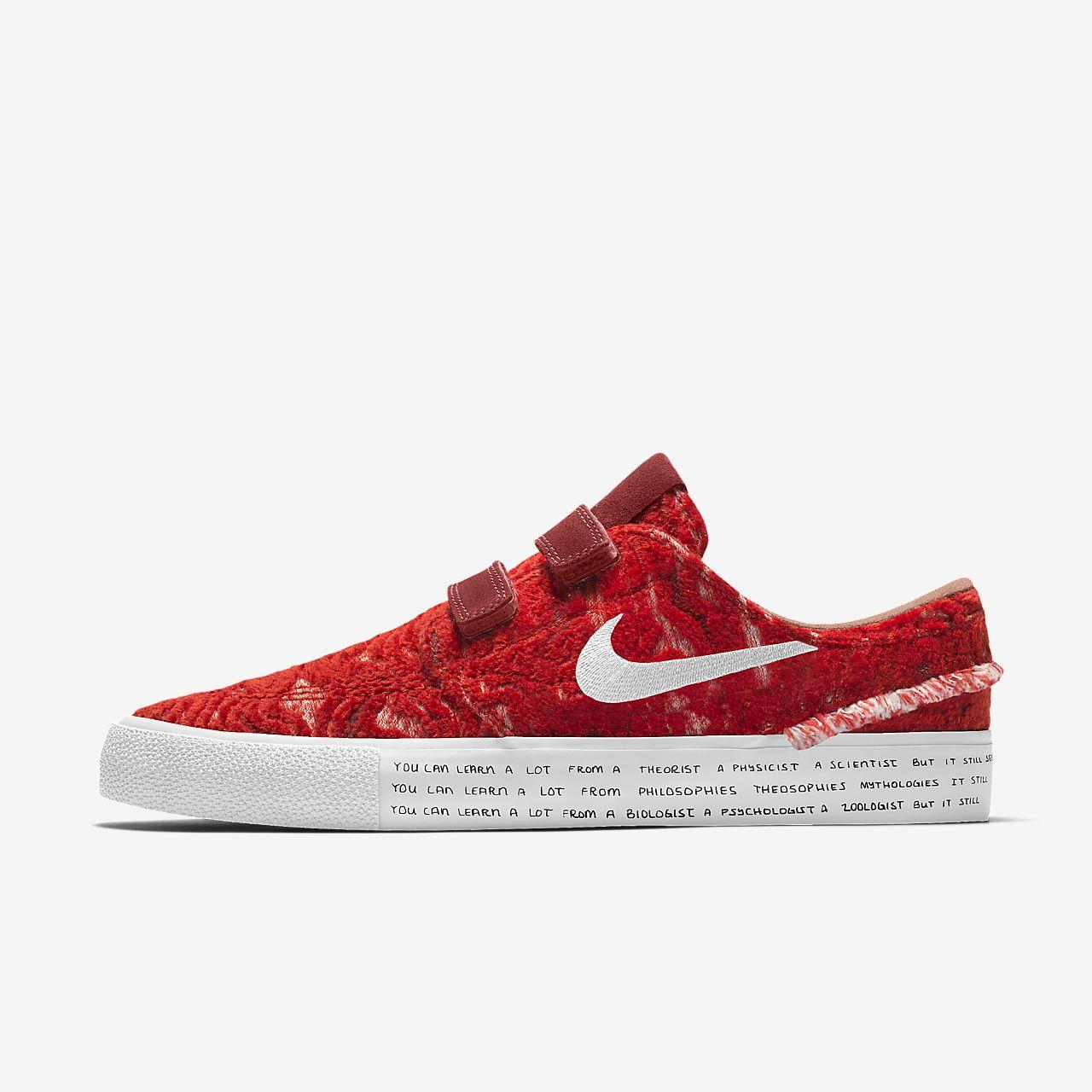 online for sale buy super cute Nike Zoom Stefan Janoski RM Premium By You Custom Skate Shoe