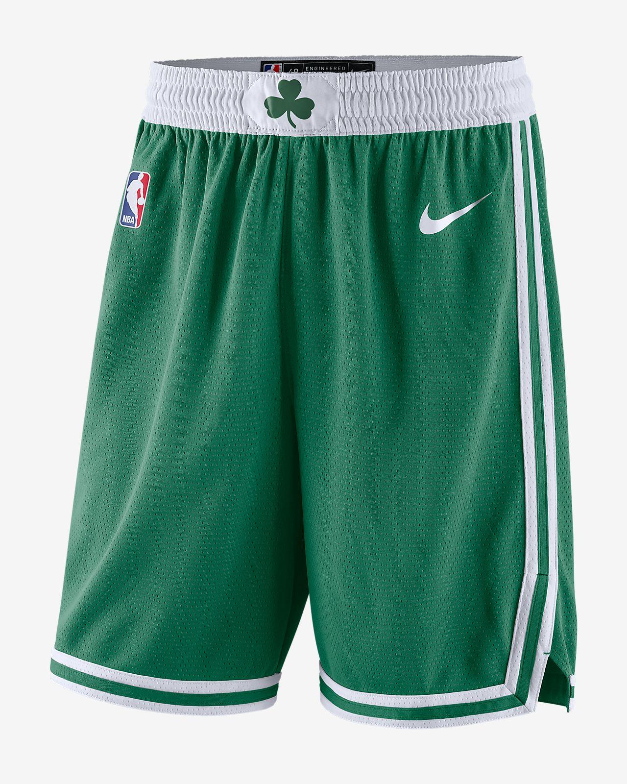 กางเกงขาสั้น Nike NBA ผู้ชาย Boston Celtics Icon Edition Swingman