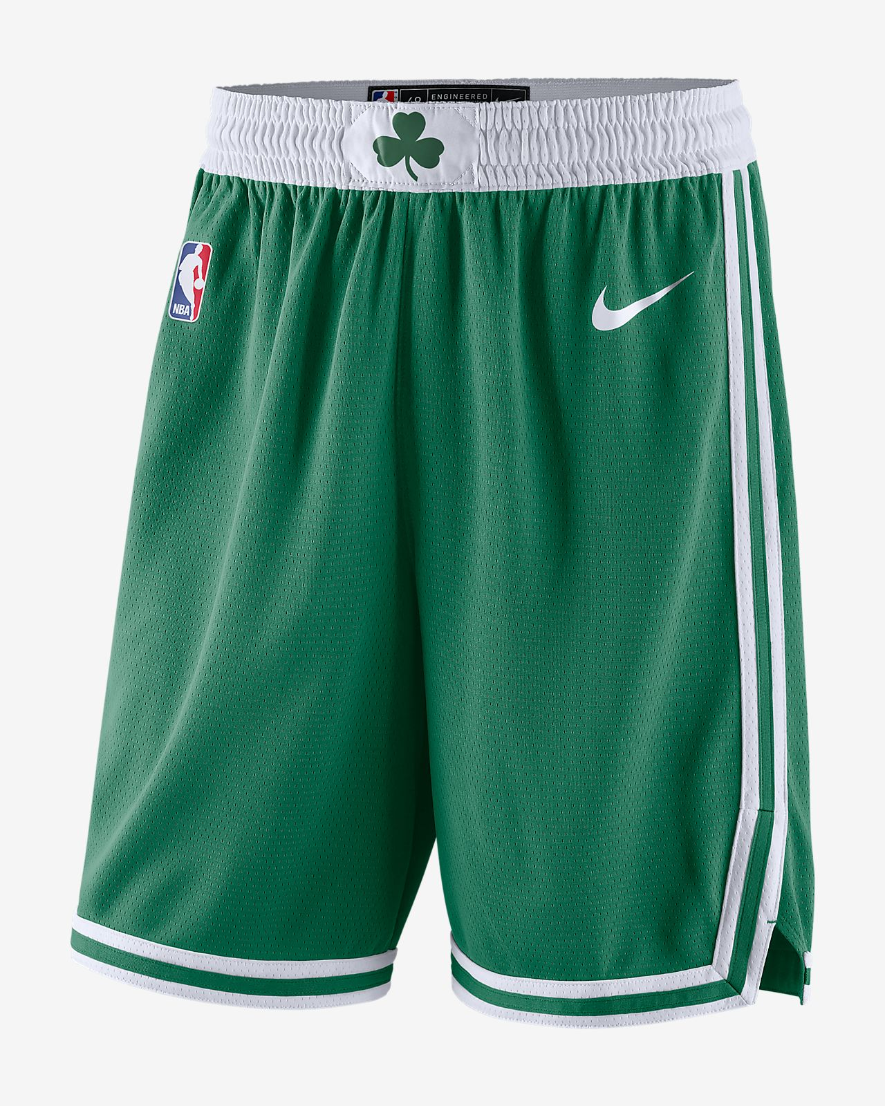 separation shoes a6a7d 5c3ef Boston Celtics Icon Edition Swingman Men's Nike NBA Shorts