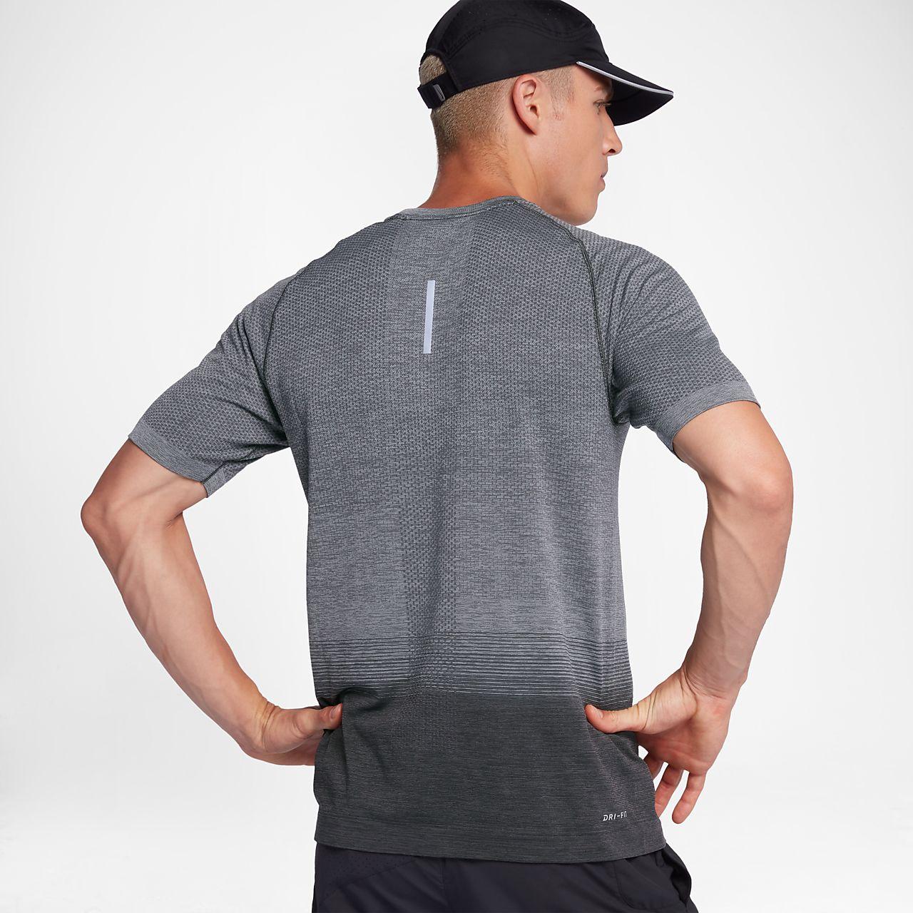 ... Nike Dri-FIT Knit Men's Short-Sleeve Running Top