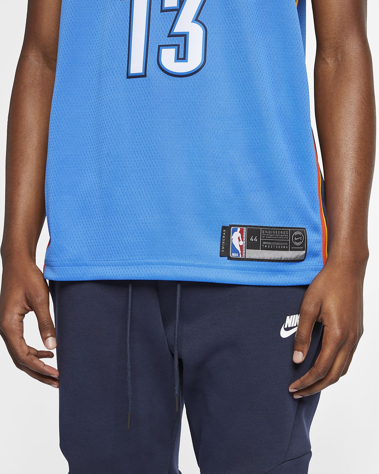 690c2c52d047 ... Paul George Icon Edition Swingman (Oklahoma City Thunder) Men s Nike  NBA Connected Jersey