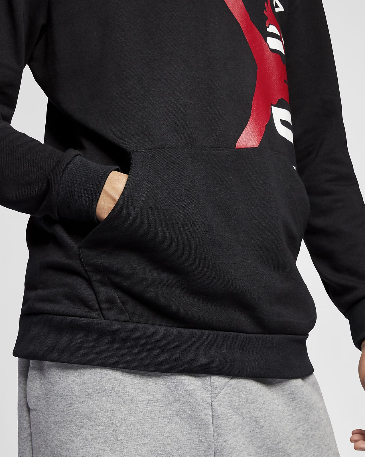 3701a0068a943b Jordan Jumpman Air Lightweight Men s Fleece Sweatshirt. Nike.com CA