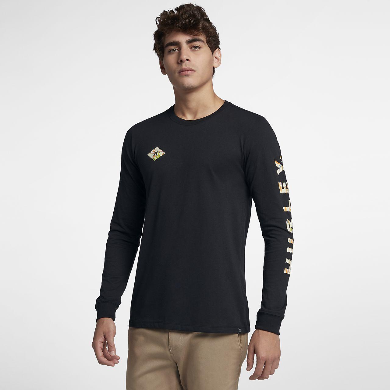 c37bbdc8 Hurley Dri-FIT Fronds Men's Long-Sleeve T-Shirt. Nike.com
