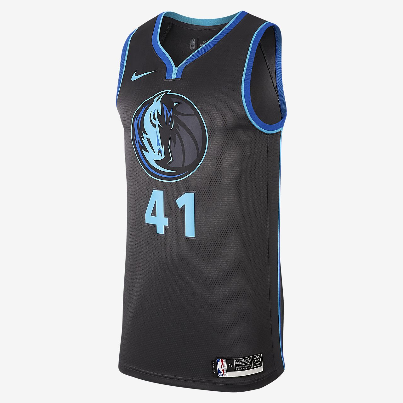 Dirk Nowitzki City Edition Swingman (Dallas Mavericks) Men's Nike NBA Connected Jersey