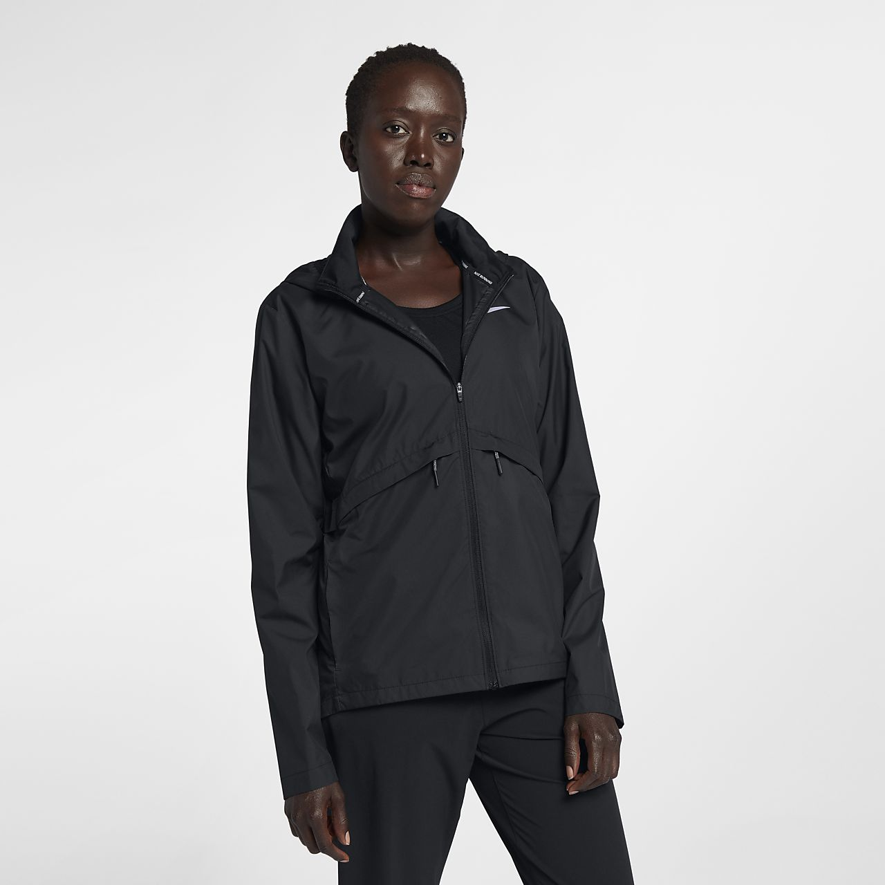 a9572237f8ac Nike Essential Women s Packable Running Rain Jacket . Nike.com