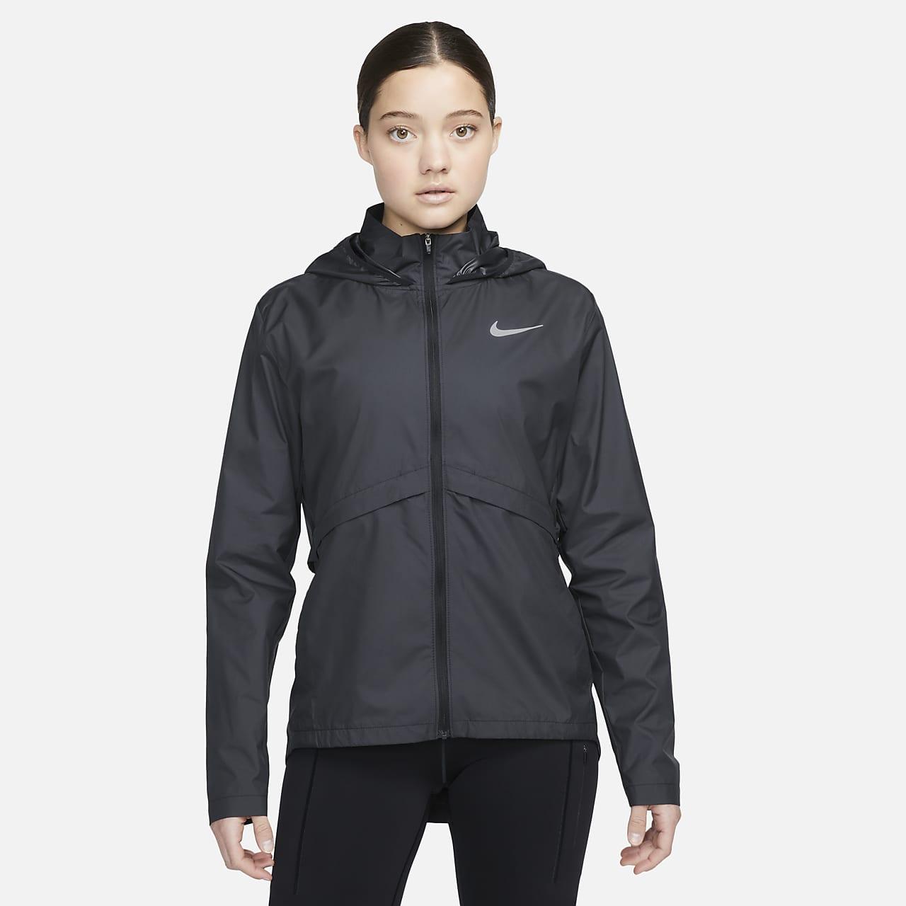 Packbar regnjacka för löpning Nike Essential för kvinnor