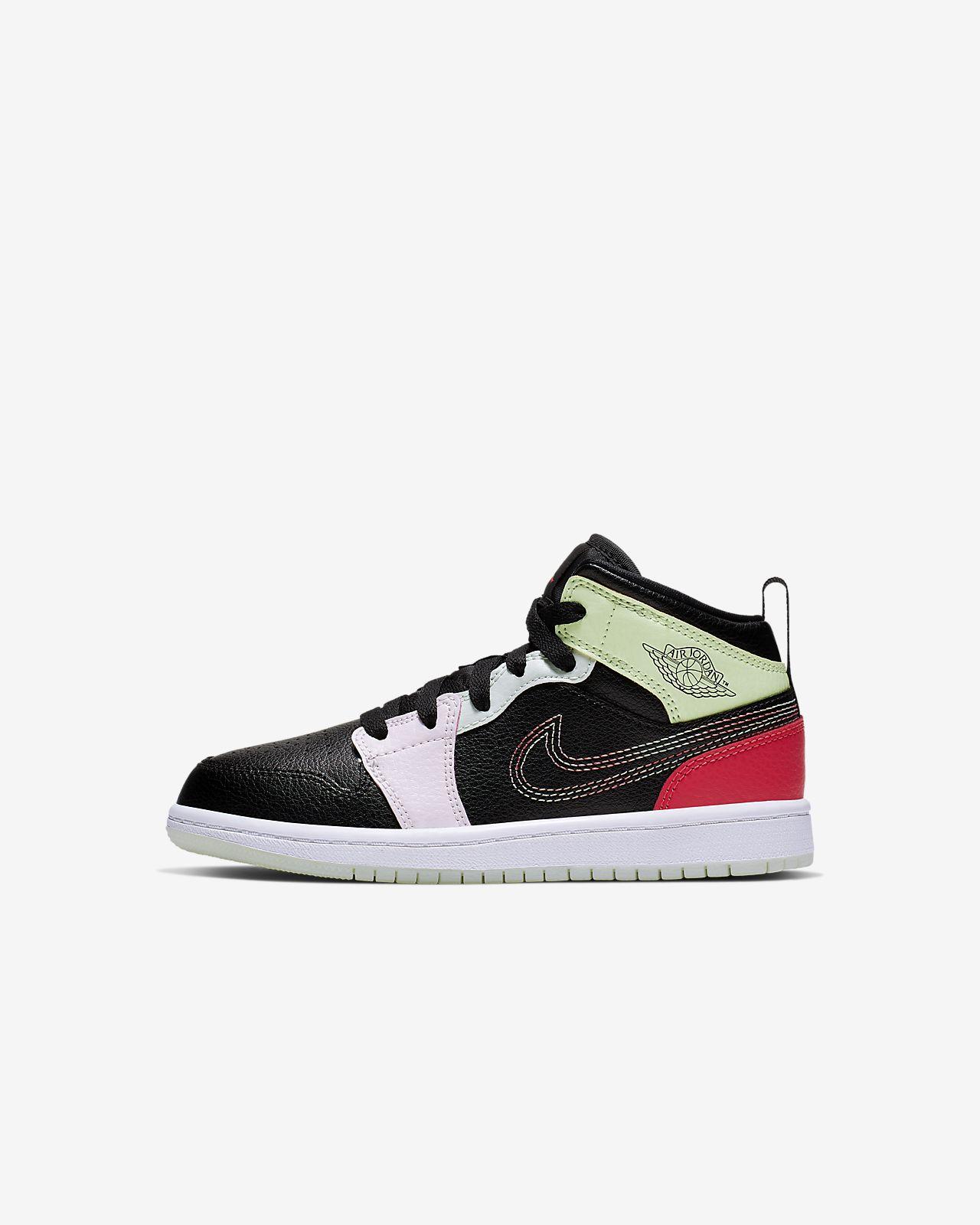 Jordan 1 Mid SE Little Kids' Shoe (10.5c-3y)