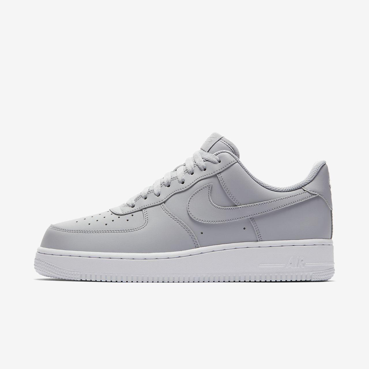 Nike Air Force 1 HI Premium női sportcipő, Wolf Grey, 39