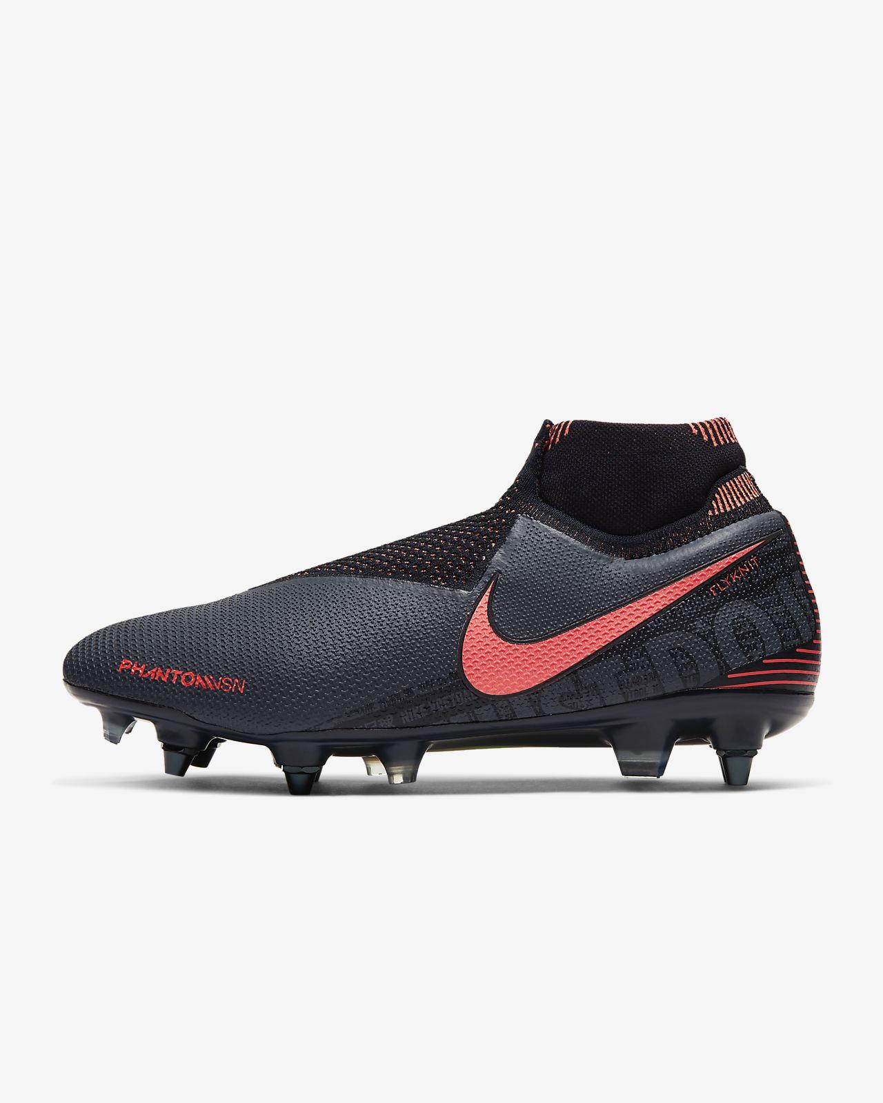 Atmungsaktive Männer Kinder Fußball Schuhe Lange Spikes Anti