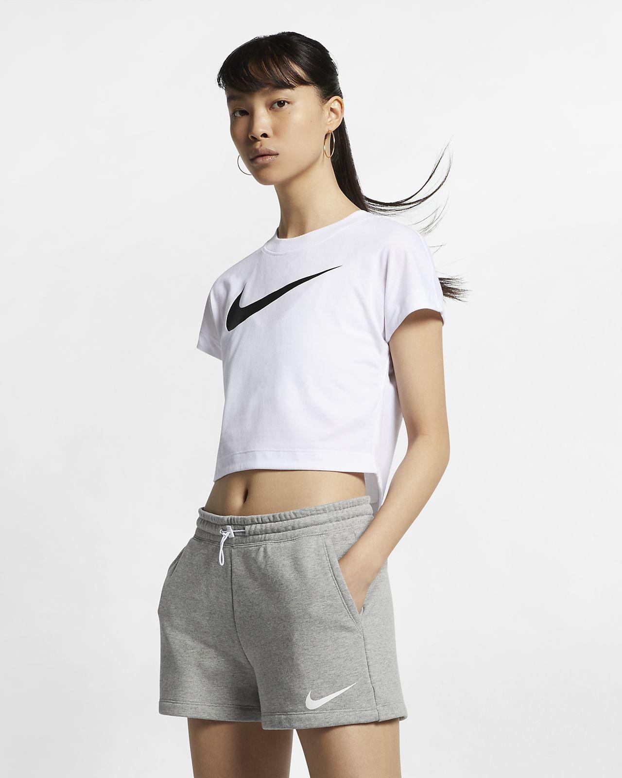 b82828d8e59 Nike Sportswear Women's Swoosh Short-Sleeve Crop Top. Nike.com NO
