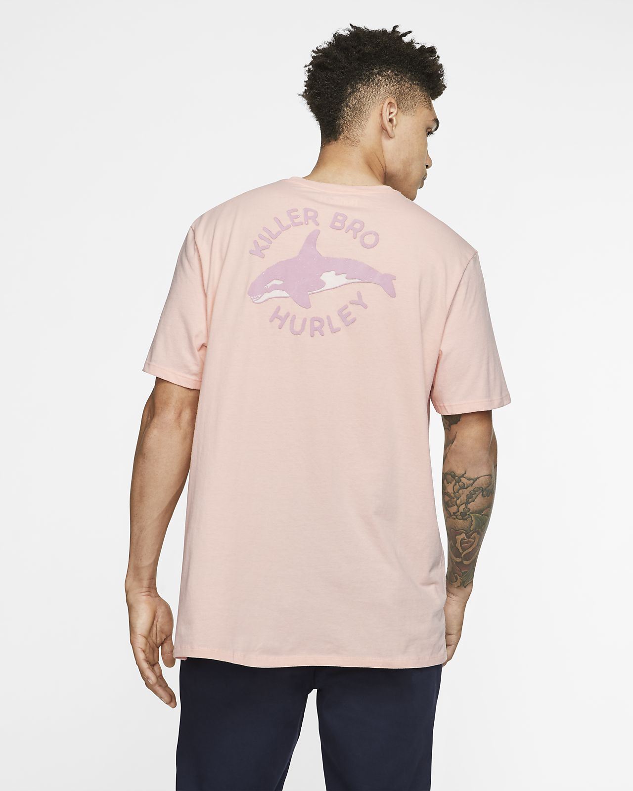 Pánské tričko Hurley Premium Killer Bro Pocket s exkluzivním střihem