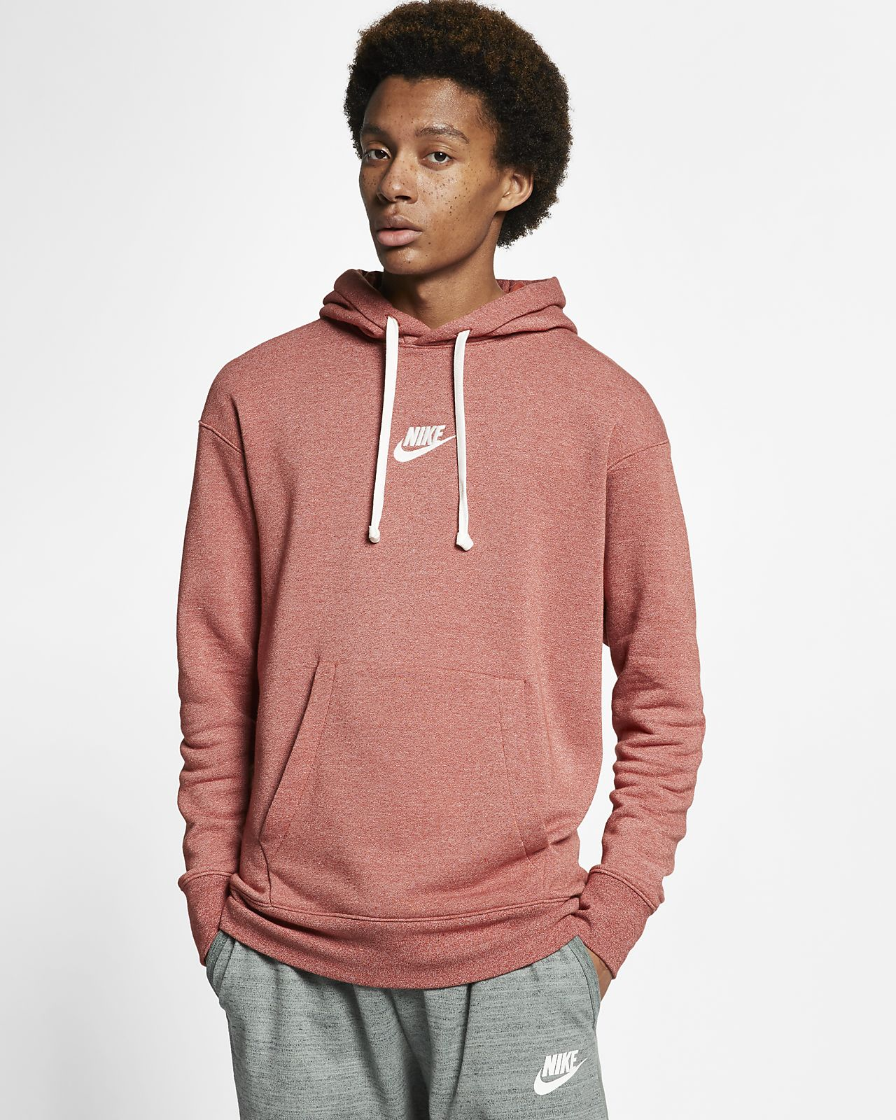 7f5d4d110 Nike Sportswear Heritage Men's Pullover Hoodie. Nike.com