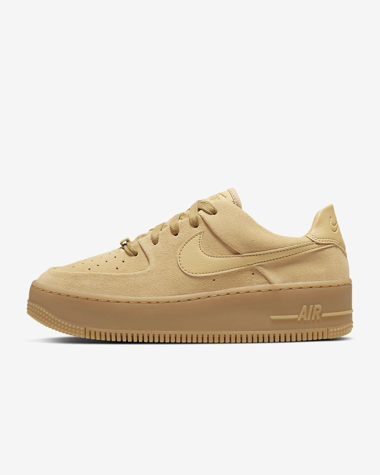 Nike Air Force 1 Low 07 LV8 Suede Mushroom Sneaker Bar Detroit