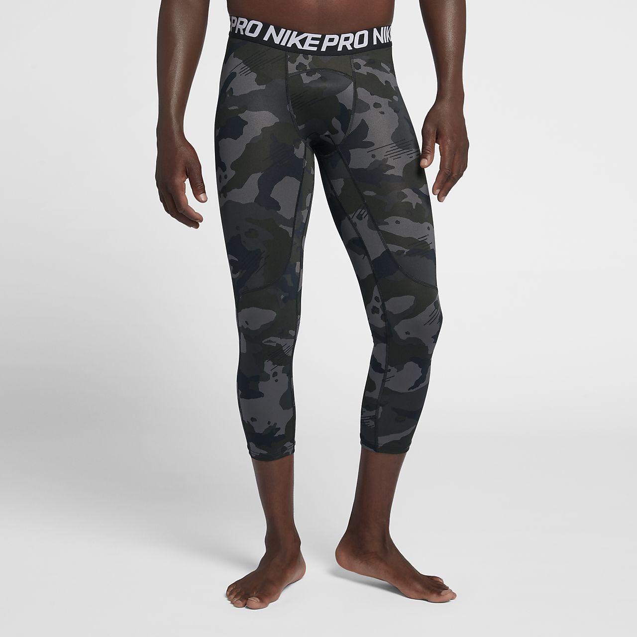 f51c72fdbb602 Nike Pro Men's 3/4 Camo Tights. Nike.com ID