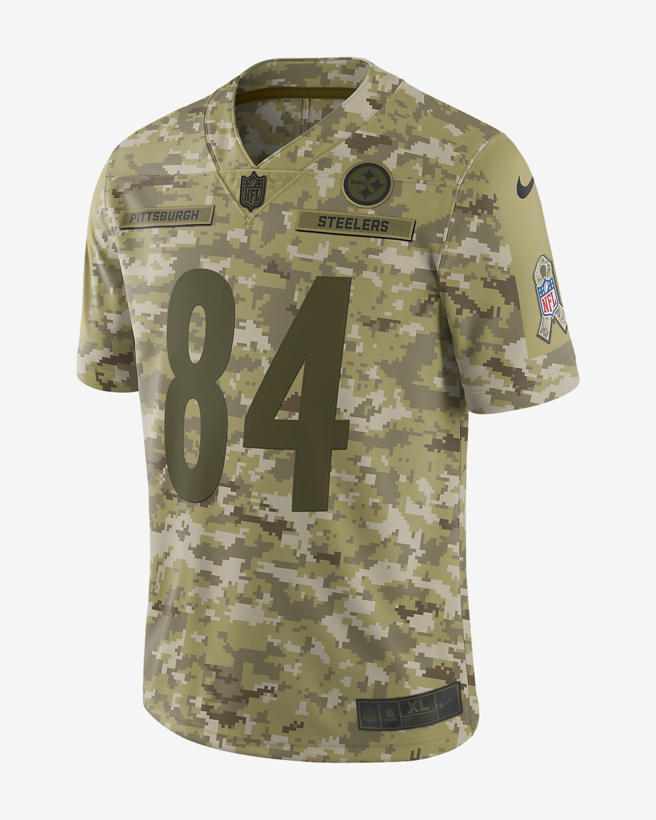 4949ccba2 ... color rush limited jersey 79186 17c73  australia nfl pittsburgh steelers  salute to service limited jersey antonio brown mens football jersey 02bab  ad051