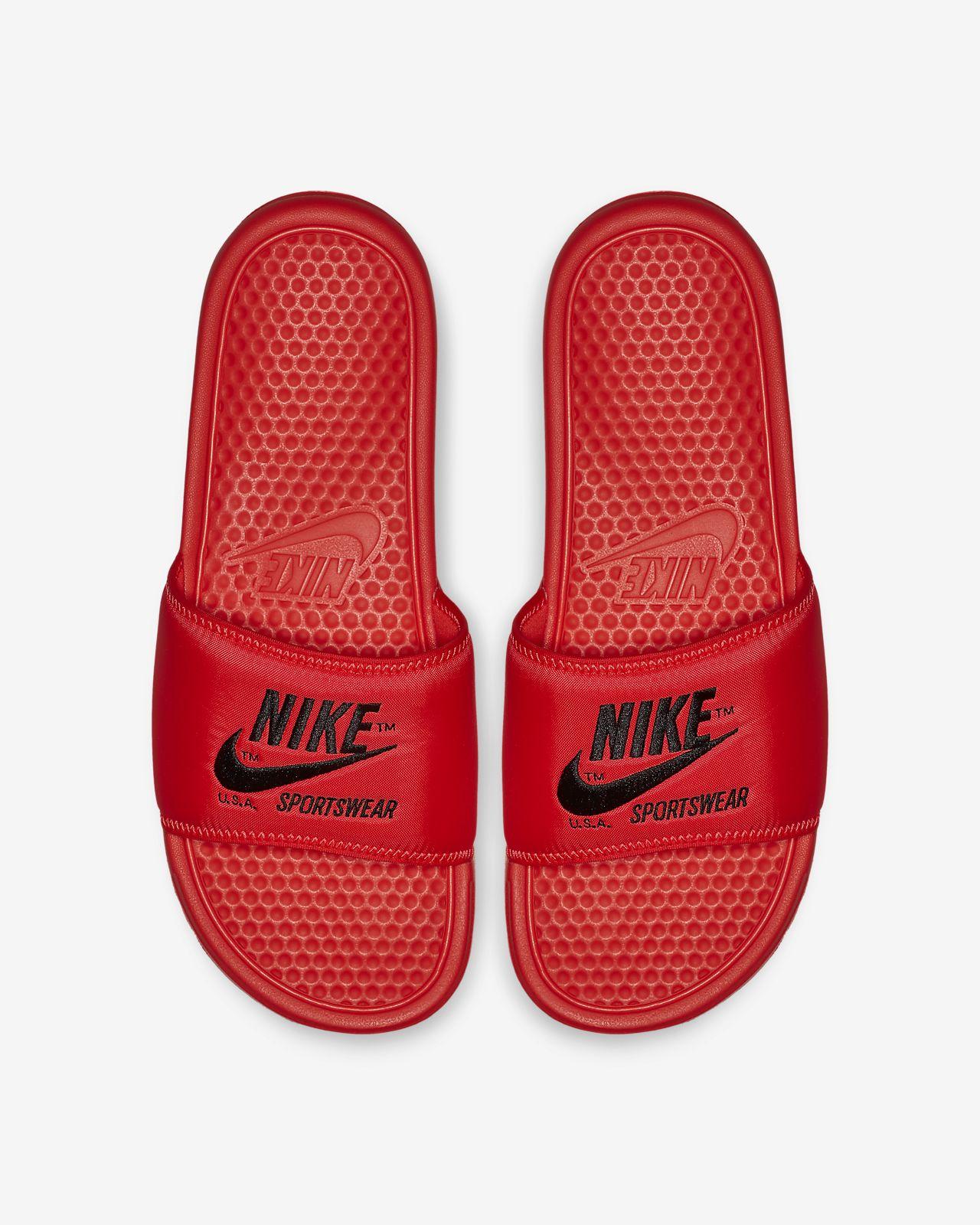 the latest 03a2e f6f5d ... Chancla para hombre Nike Benassi JDI TXT SE