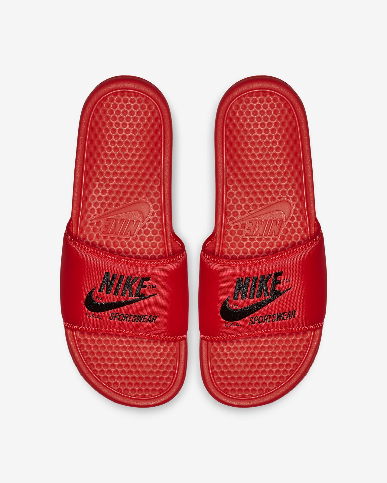 18b0f3cf63f Claquette Nike Benassi JDI TXT SE pour Homme. Nike.com BE