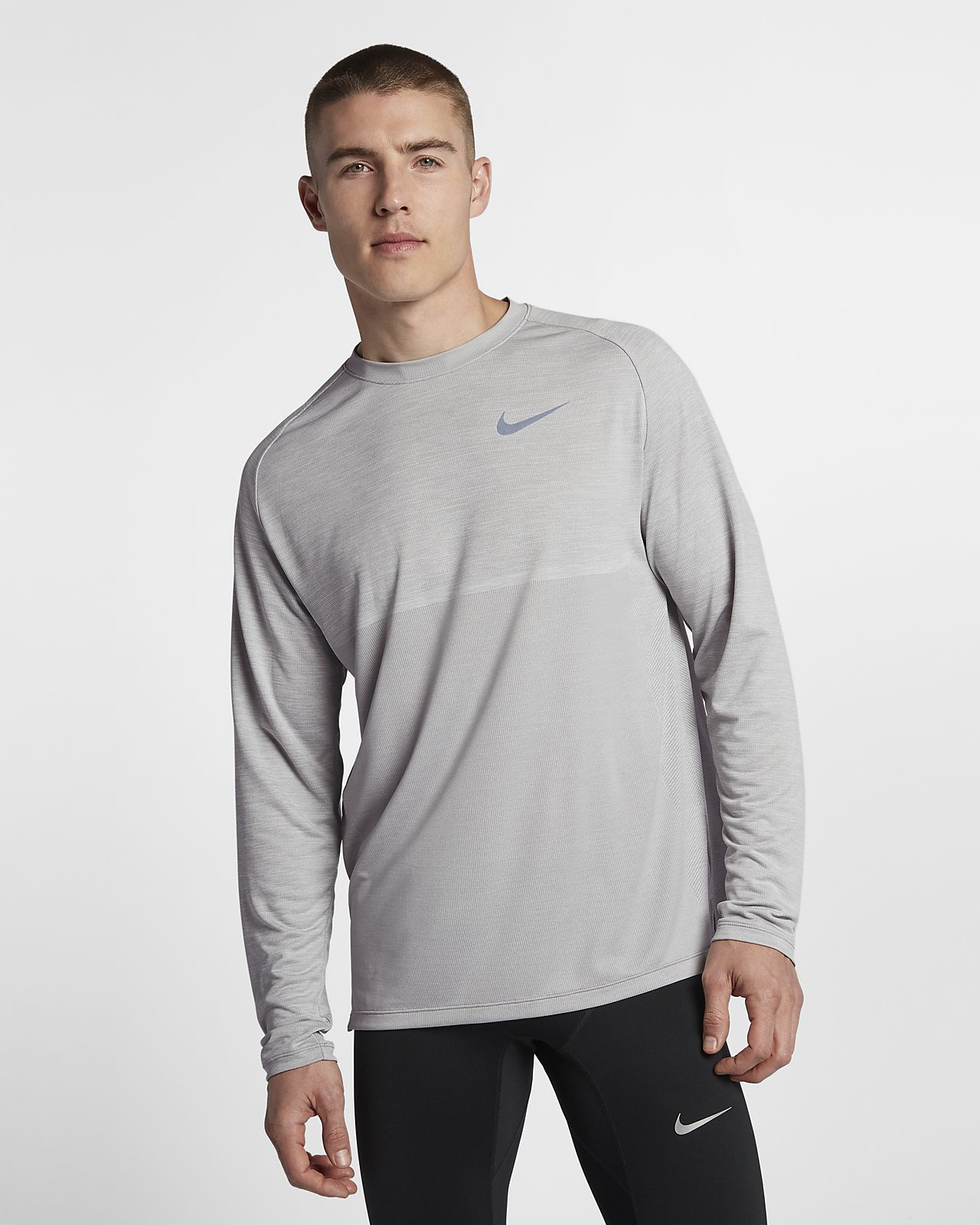 1410eb235f9be Nike Dri-FIT Medalist Men s Long-Sleeve Running Top. Nike.com AU