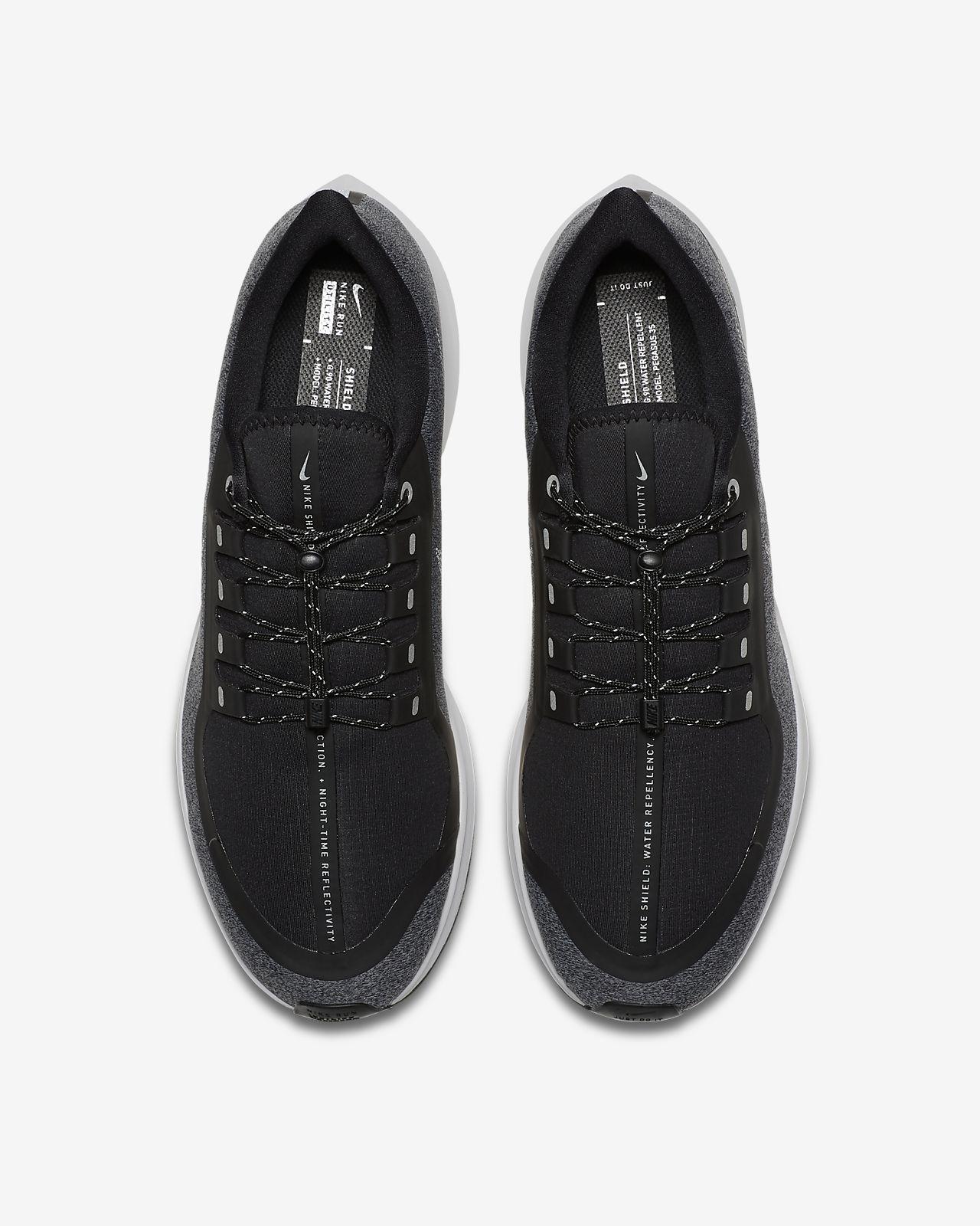 Nike Air Zoom Pegasus 35 Shield Water-Repellent Men s Running Shoe ... fdae4f0c4