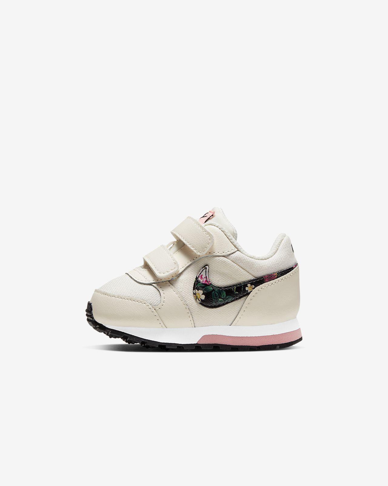 Nike MD Runner 2 Vintage Floral-sko til babyer/småbørn