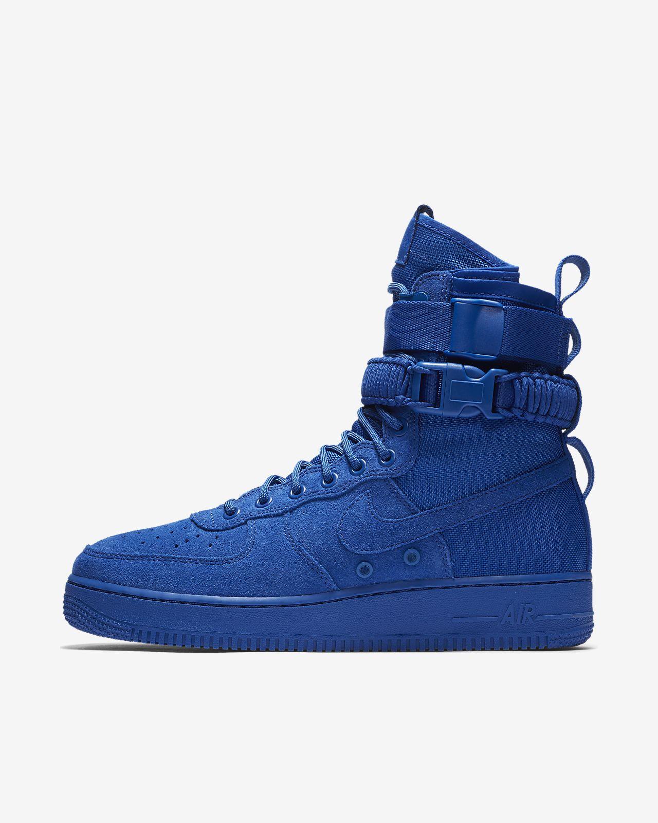 Sf Nike Air Force 1 Mi W Chaussures Gris aV06F