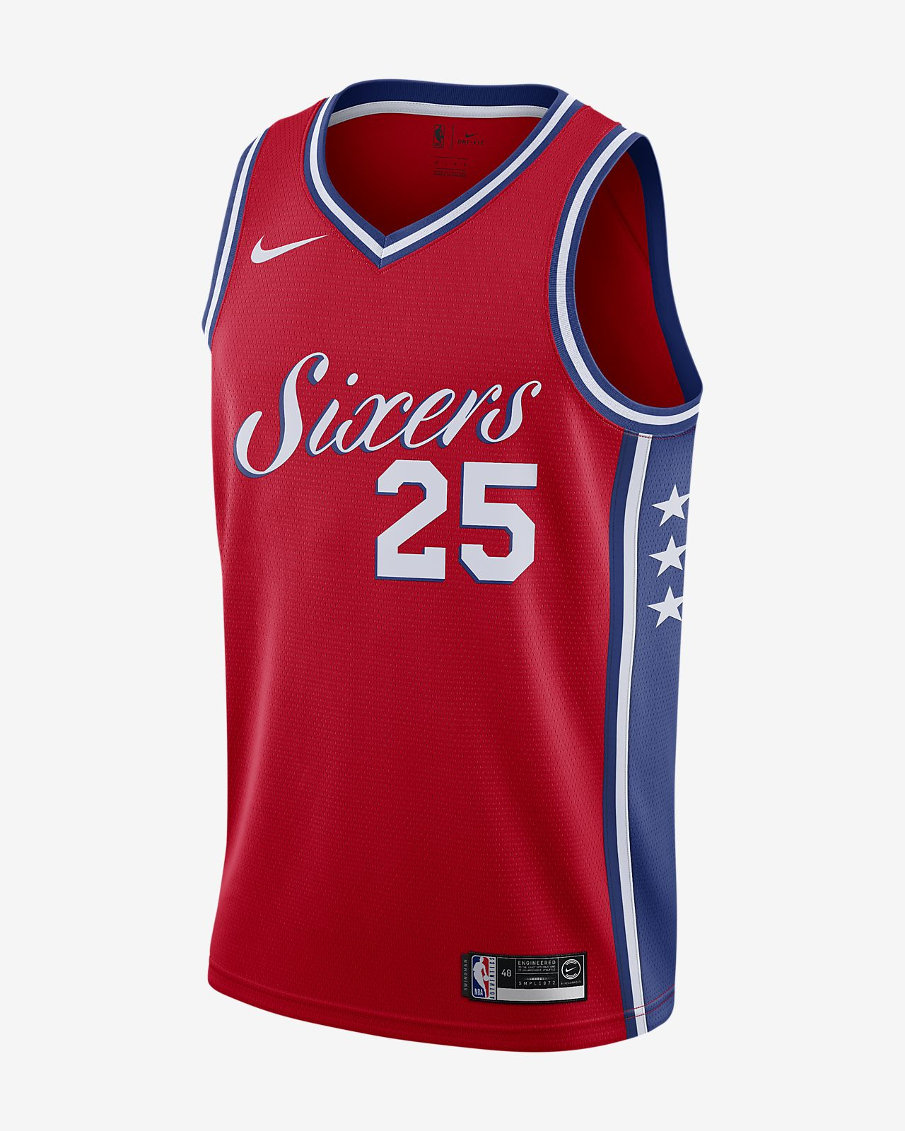 pretty nice e7a35 8f87e Ben Simmons Statement Edition Swingman (Philadelphia 76ers) Men's Nike NBA  Connected Jersey
