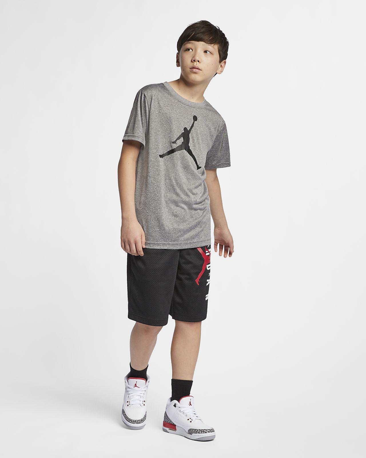 33863baa50c8f6 Jordan Dri-FIT Big Kids  (Boys ) T-Shirt. Nike.com