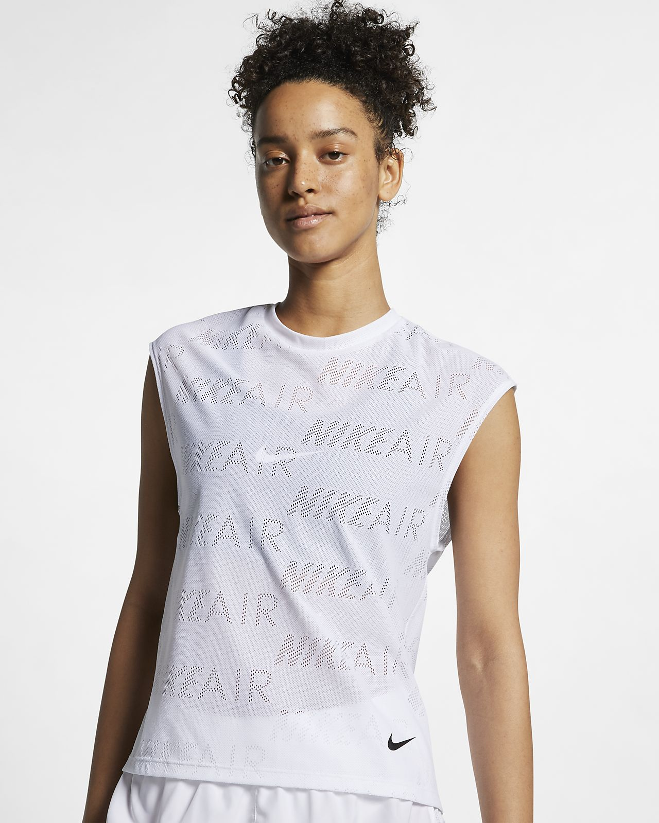 Top da running a manica corta Nike Air Donna. Nike IT