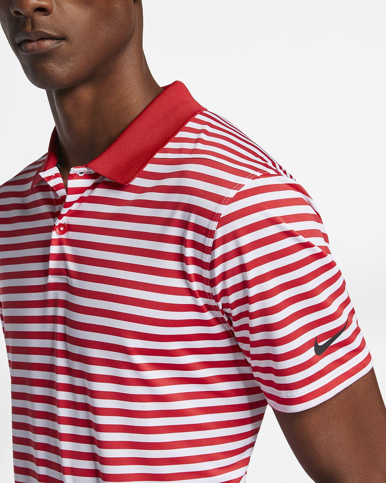 e7ee1ee242 Nike Dri-FIT Victory Men's Striped Golf Polo. Nike.com