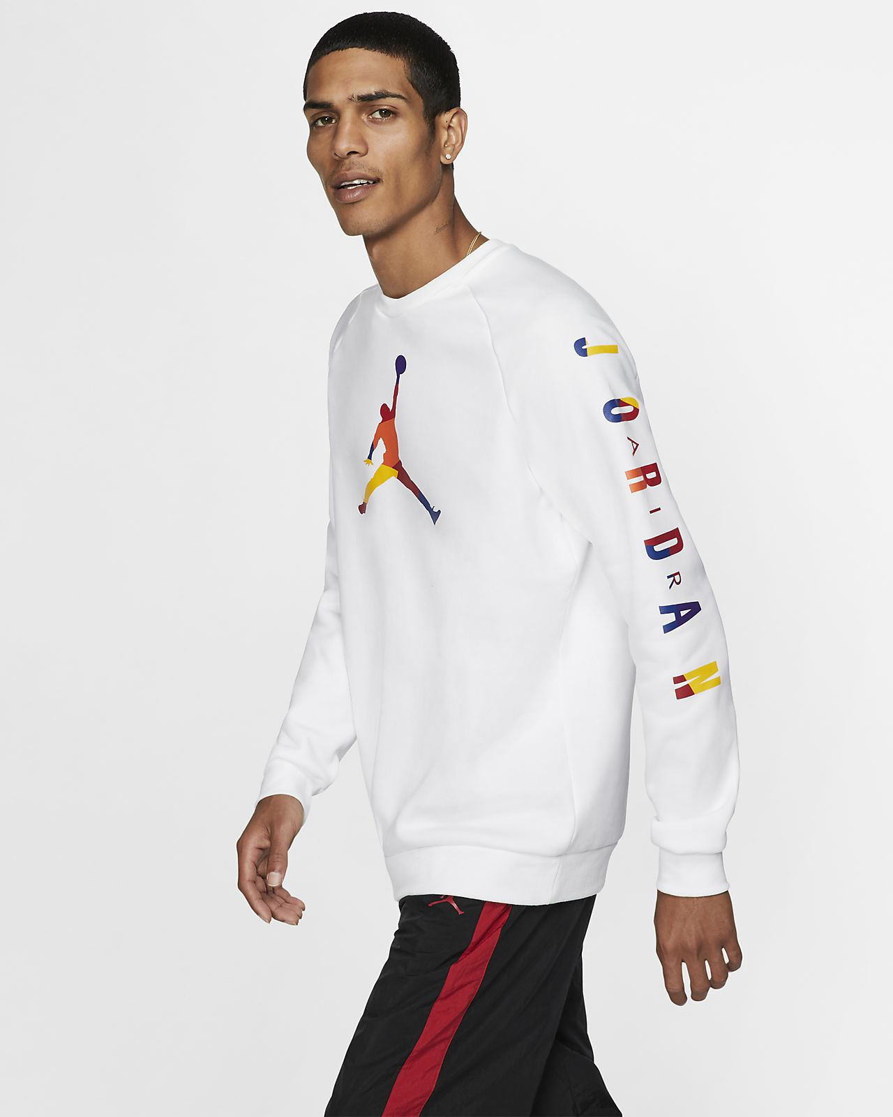 Jordan DNA-crewtrøje i fleece