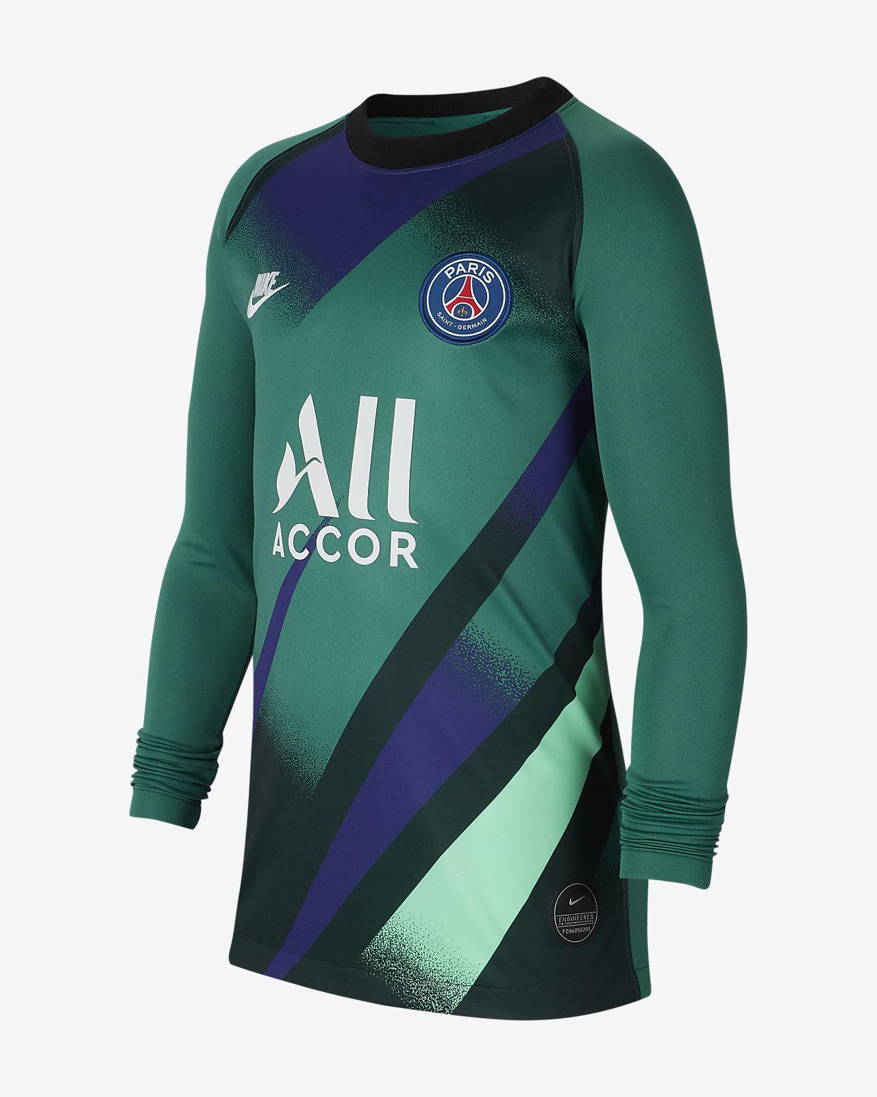 Paris Saint-Germain 2019/20 Stadium Goalkeeper Third-fodboldtrøje til store børn