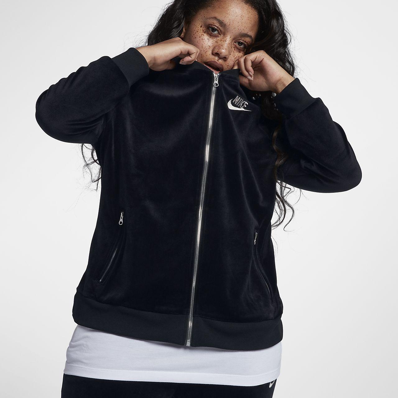 ... Nike Sportswear (Plus Size) Women's Velour Jacket