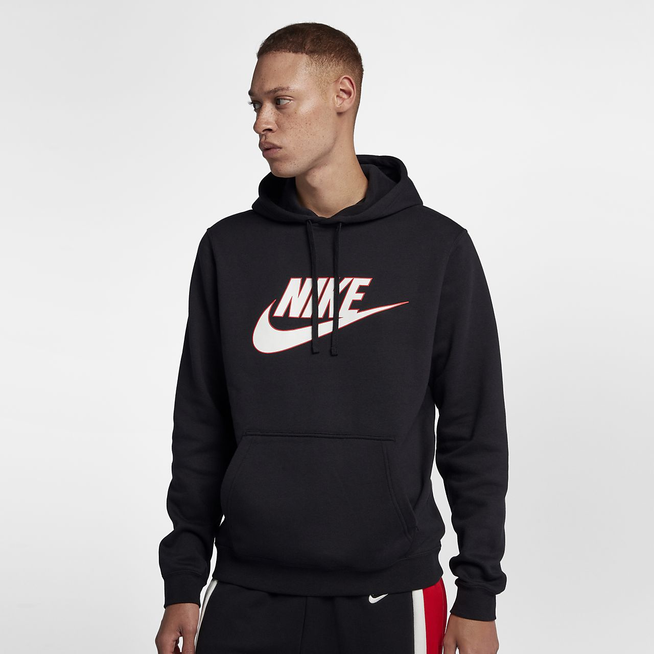 Nike Sportswear Men s Fleece Pullover Hoodie. Nike.com 03812d6b321d