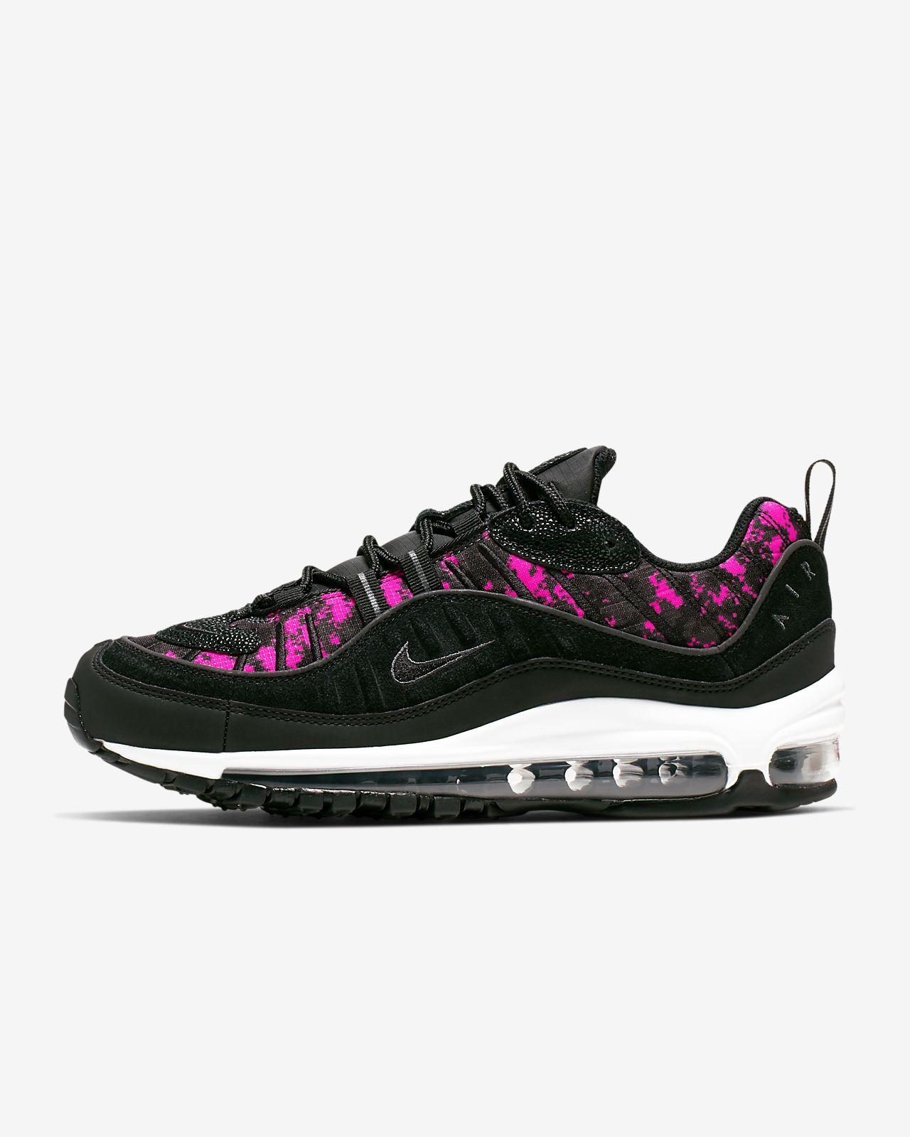 Scarpa Nike Air Max 98 Premium Camo - Donna