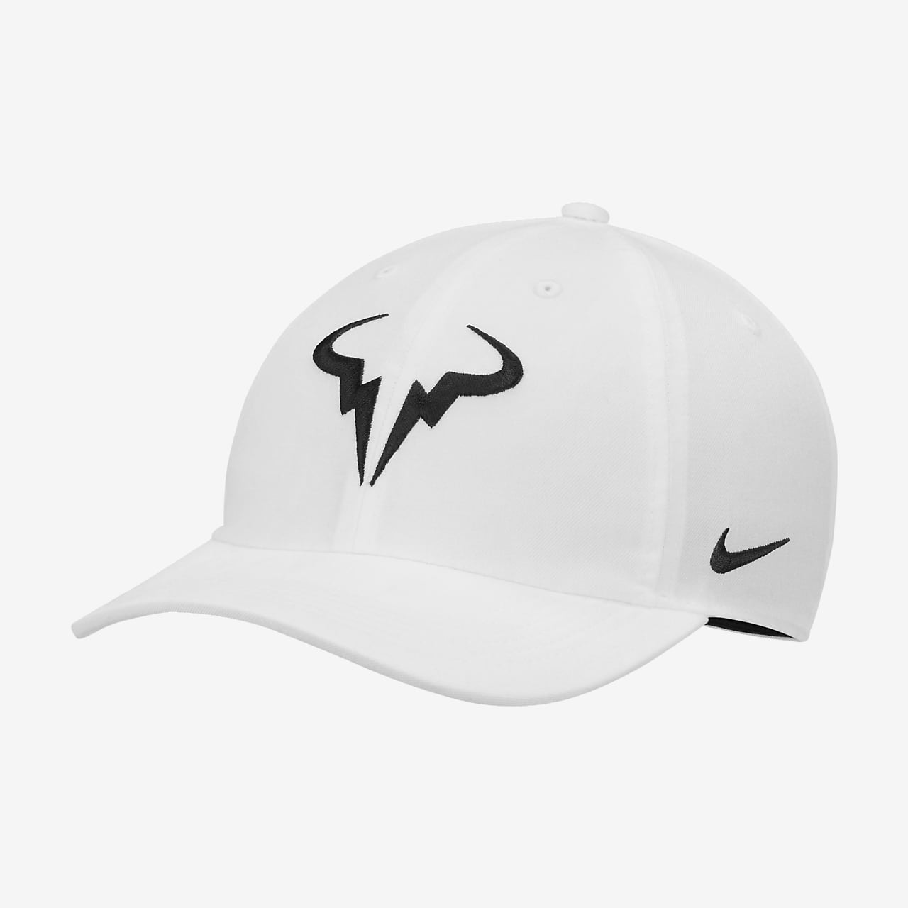 daf65f52 NikeCourt AeroBill Rafa Heritage86 Tennis Hat. Nike.com