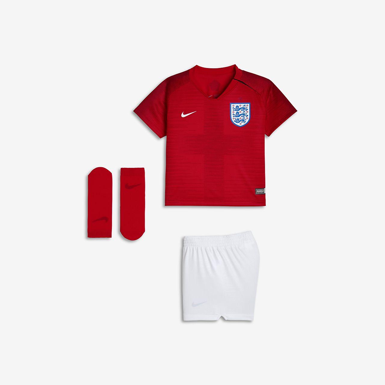 Uniforme de fútbol para bebé 2018 England Stadium Away