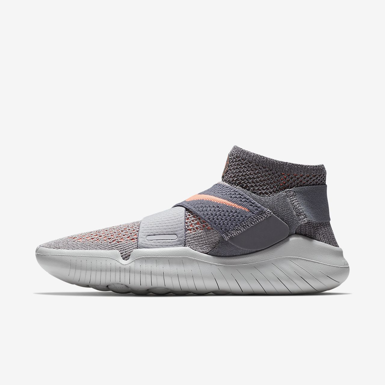 Schuhe NIKE - Free Rn Motion Fk 2018 942841 003 Atmosphere Grey/Crimson Pulse C0ZGFqCv