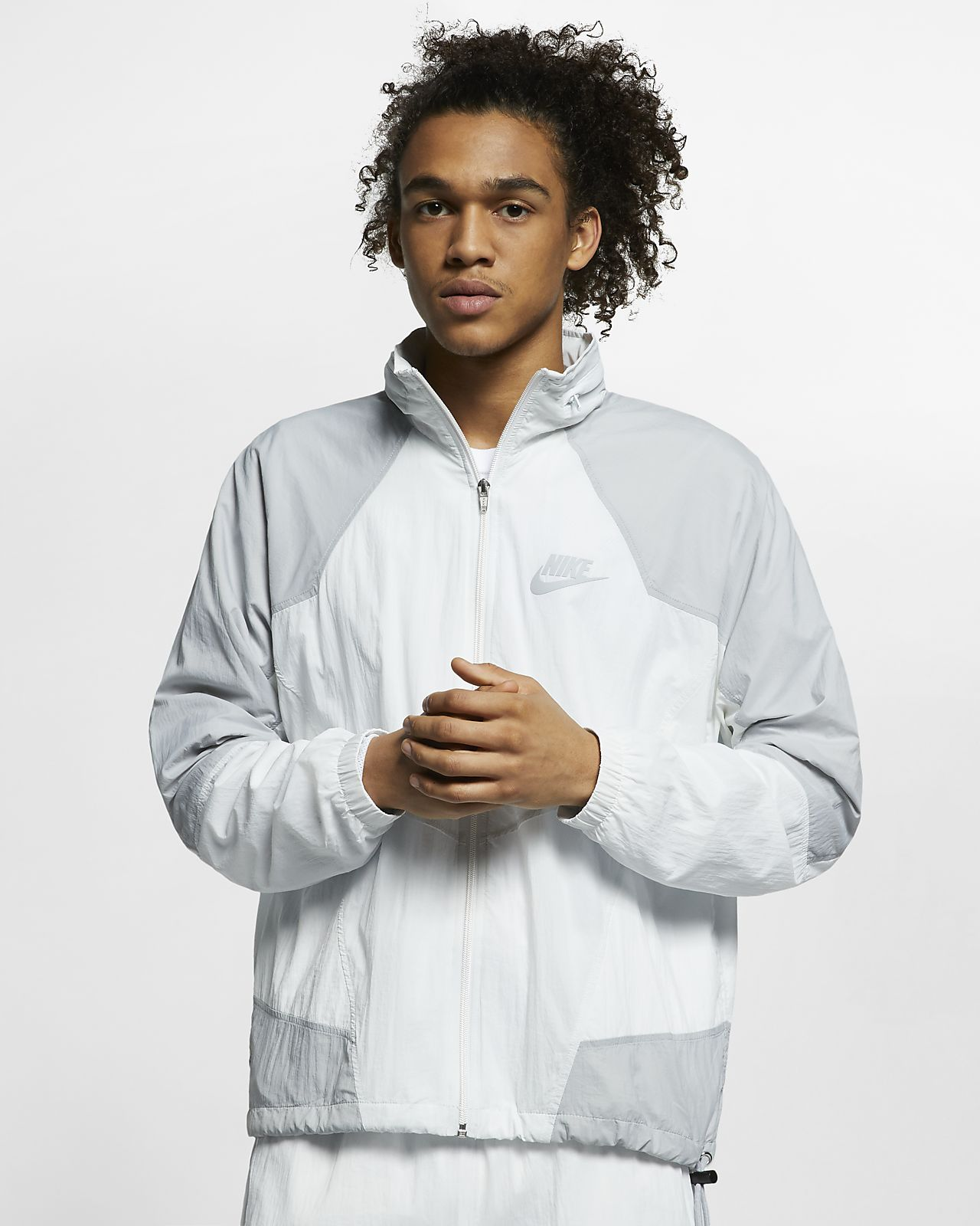 Sportswear Hooded Woven Jacket