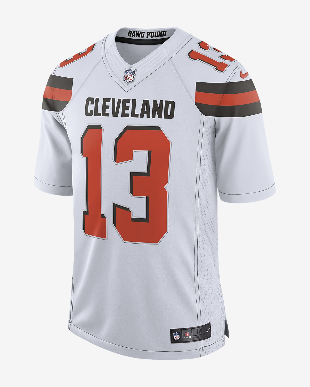 innovative design 0f9cd 561d1 NFL Cleveland Browns (Odell Beckham Jr.) Men's Limited Football Jersey