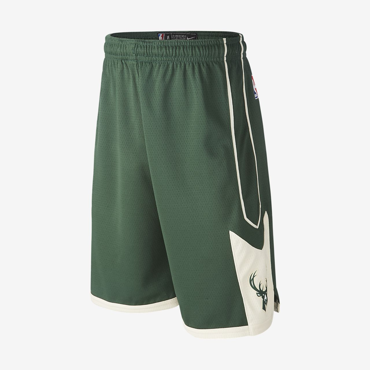 Milwaukee Bucks Nike Icon Edition Swingman NBA-jongensshorts