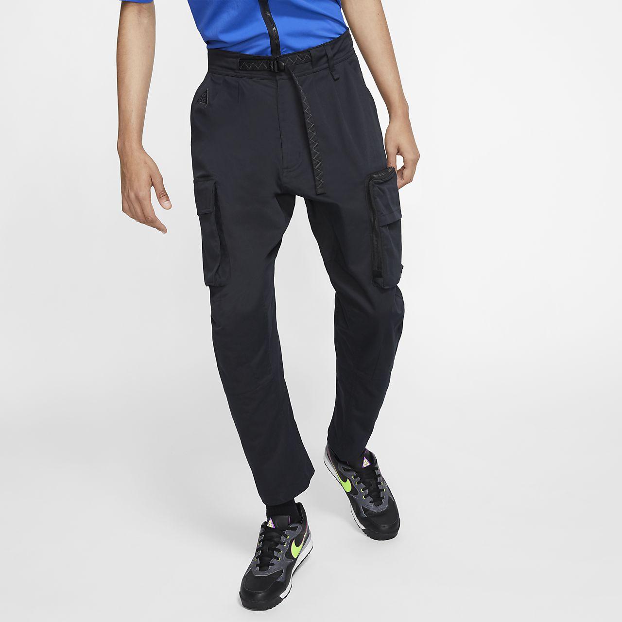 กางเกงคาร์โก้ผู้ชายแบบทอ Nike ACG