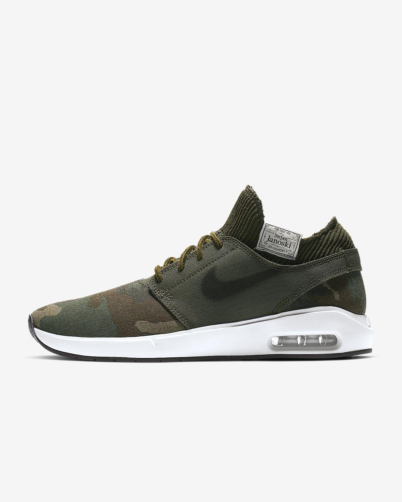 5f3dde37ce Nike SB Air Max Stefan Janoski 2 Premium Men's Skate Shoe. Nike.com