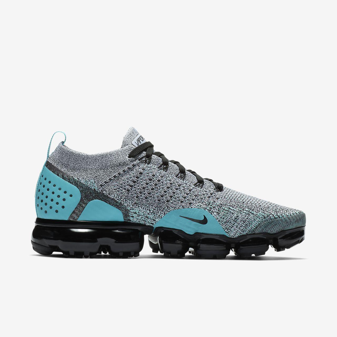 Air Vapormax 2,0 Chaussures De Sport Flyknit - Noir Nike
