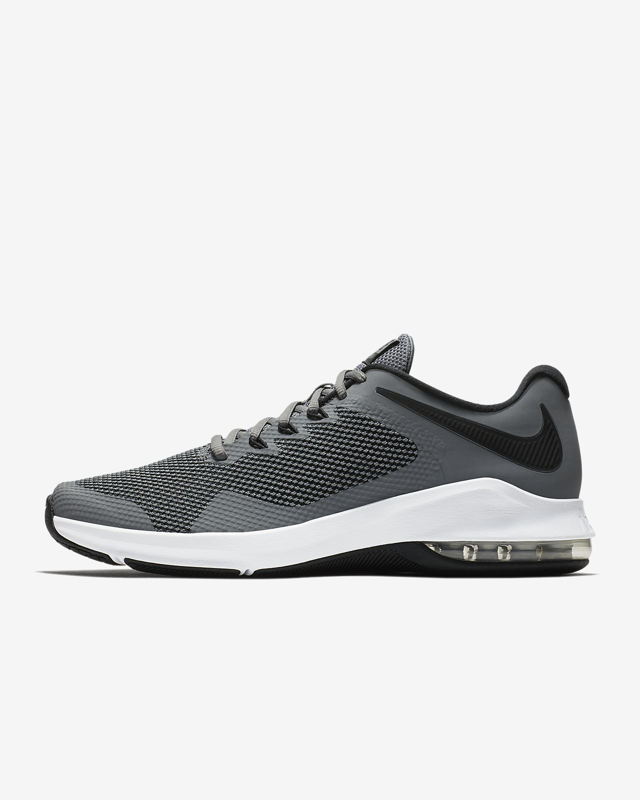 Nike Performance AIR MAX ALPHA TRAINER - Sports shoes - cool grey/black XRyVL