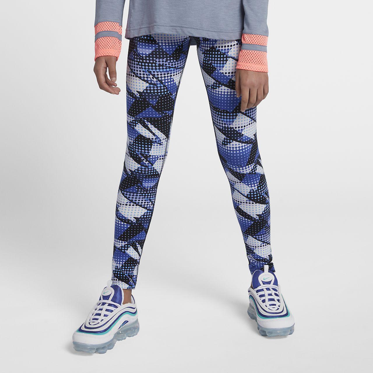 pretty nice 68517 2fb4a ... Nike Sportswear Big Kids  (Girls ) Printed Leggings