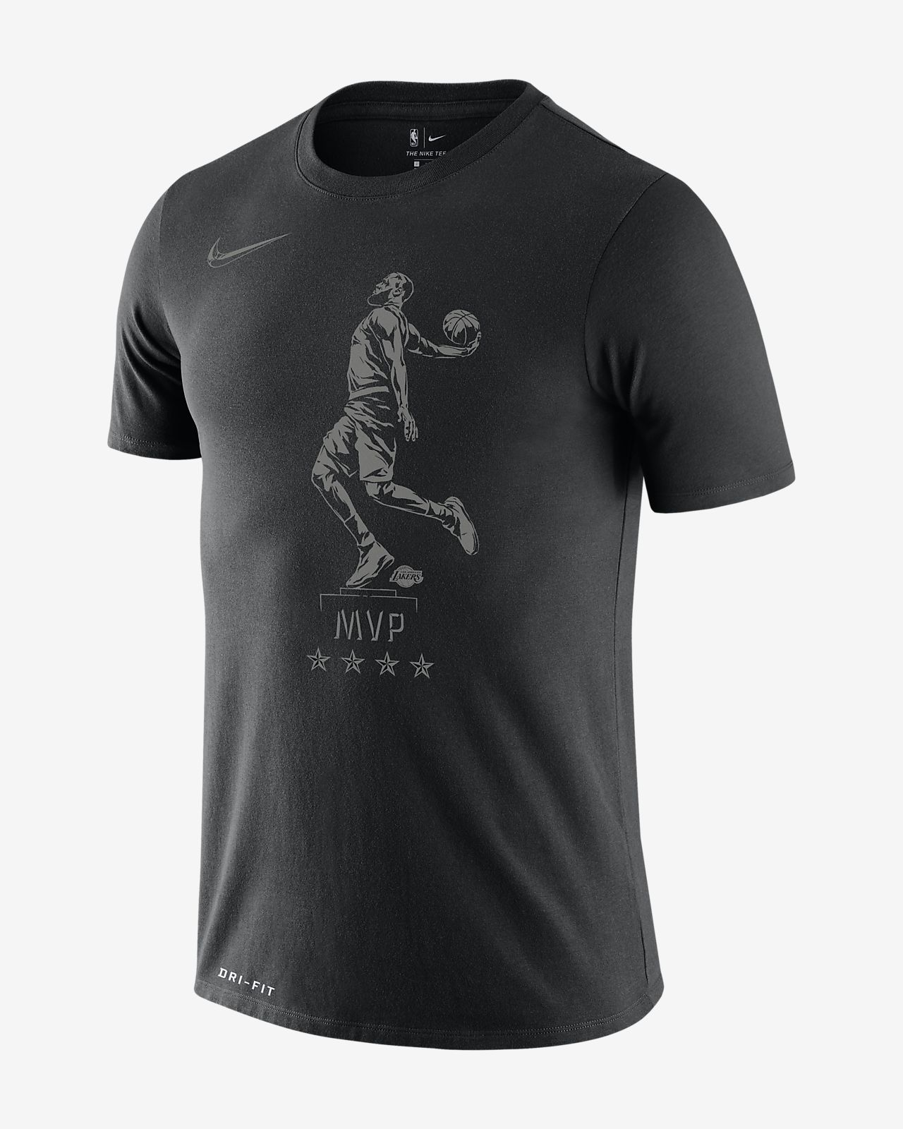 "LeBron James Nike Dri-FIT ""MVP"" Men's NBA T-Shirt"