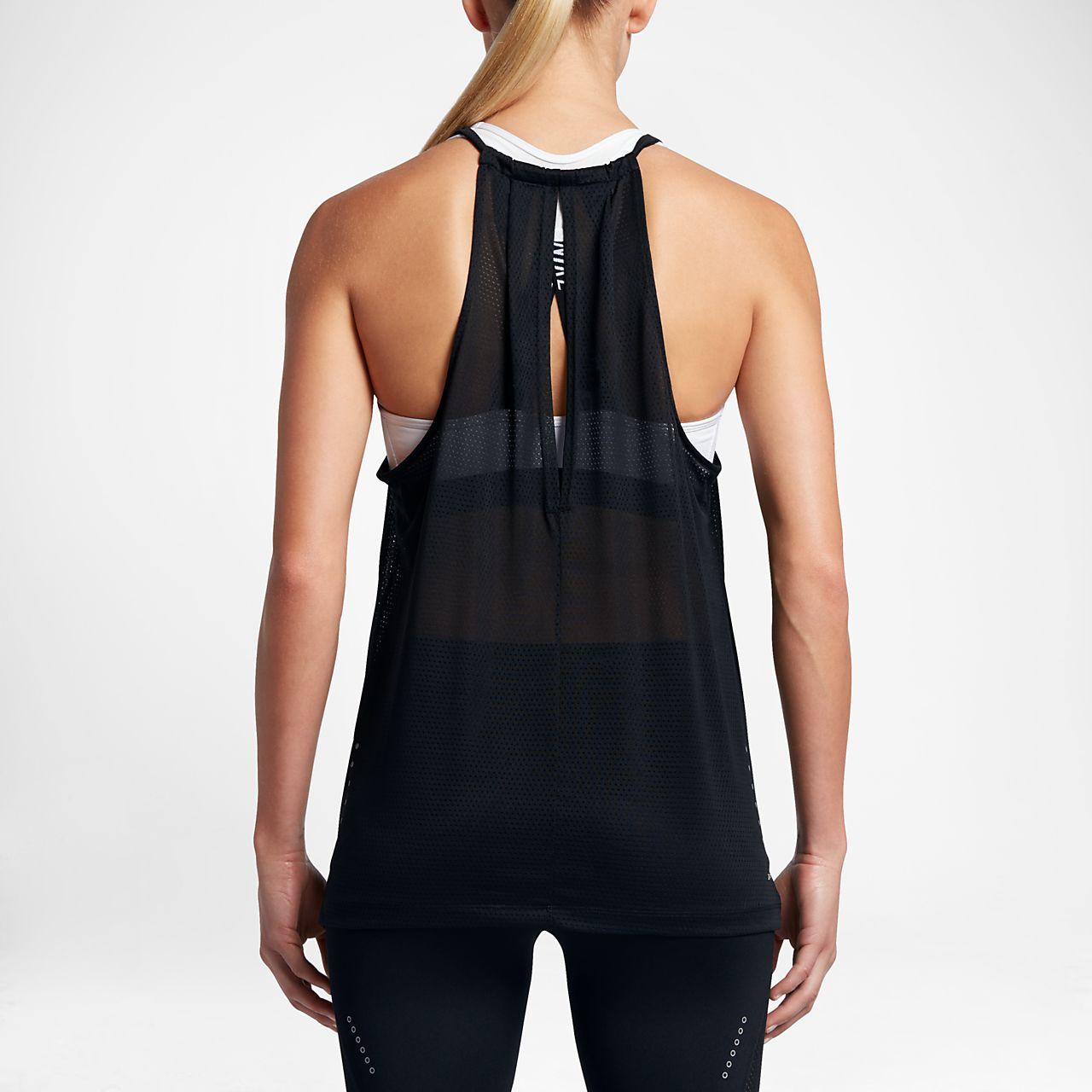 Nike Breathe Women Running Tank