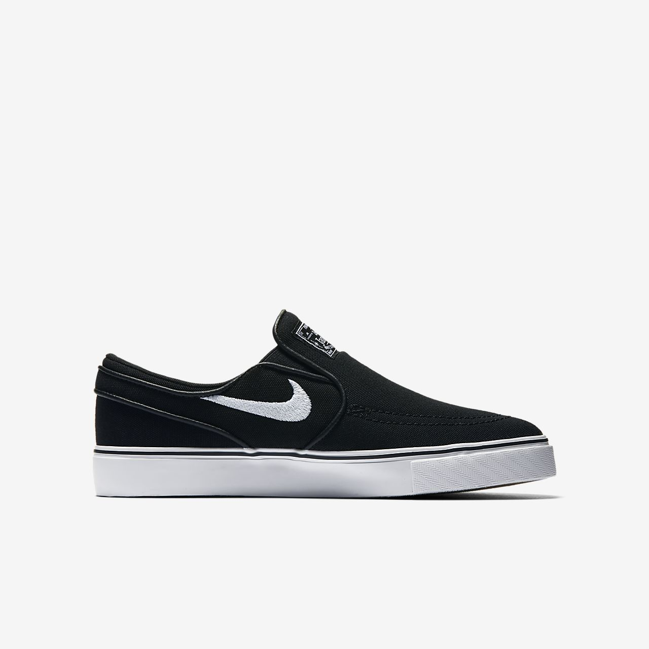 Nike SB Stefan Janoski Canvas Slip-on Big Kids  Skateboarding Shoe ... 957370a5d