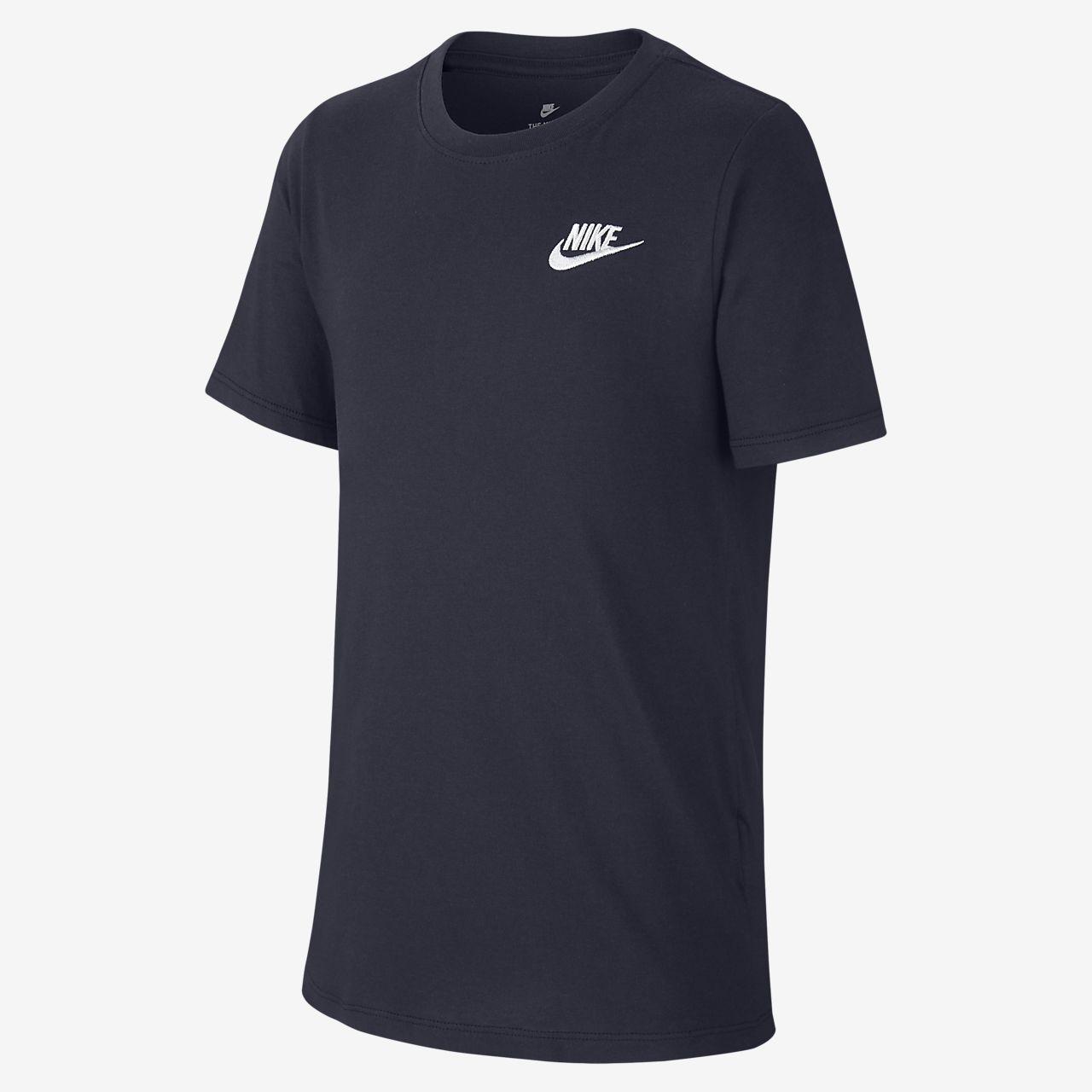Pour Logo Be Âgé Garçon Shirt Tee Plus Futura Nike ISTq6ZO