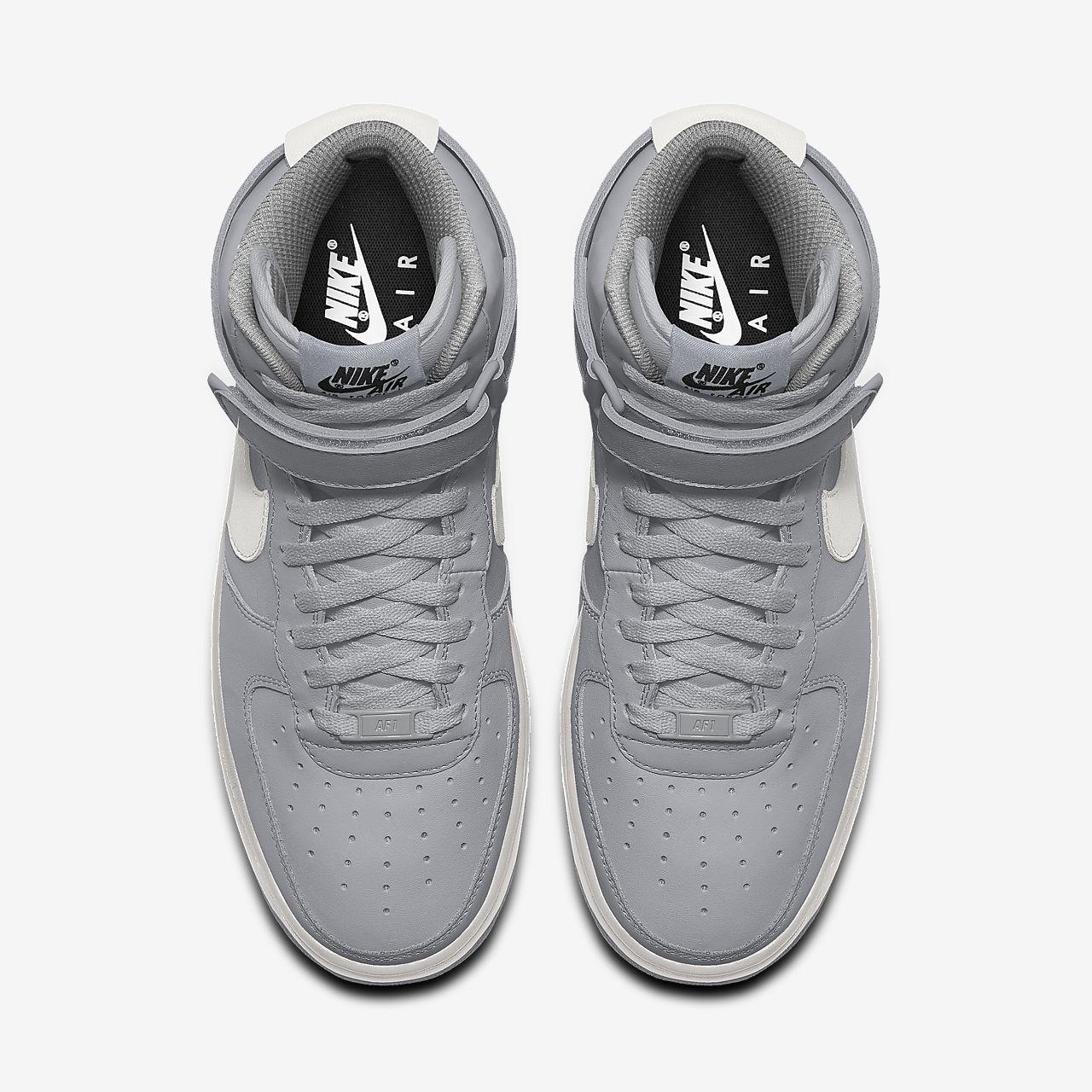 Calzado para mujer personalizado Nike Air Force 1 High By You